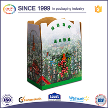 Professional custom made hot sale two pieces corrugated fruit boxes for packing cherry