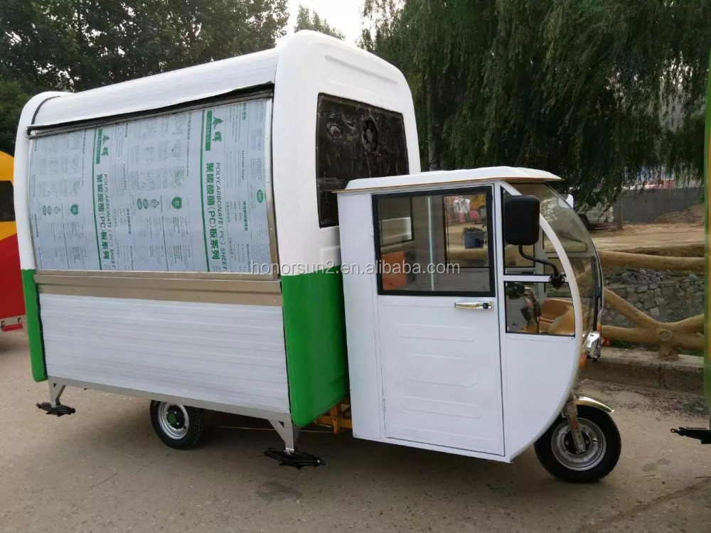 2016 CE Approved Street Mobile Ice Cream Van, Factory Supply Cheap Mobile Food Cart/Mini Food Trailer/Fast Food Truck