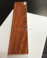 UK laminated wood grain melamine skirting board wood baseboard in floorting accessories
