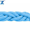 Test strictly 8-strand polypropylene rope marine mooring rope