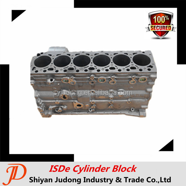 Dongfeng Truck 4946586 Isde Diesel Engine Cylinder Block