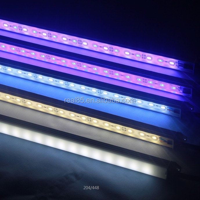 waterproof aquarium <strong>LED</strong> bar.IP66.21W.12VDC/24VDC.Korean LG 5630 <strong>LED</strong>.60 <strong>LEDs</strong>/meter.465nm blue light or 13000K.Tailored lengths.