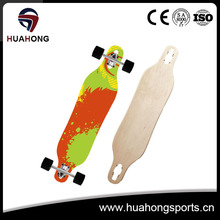 HS-C03 Canadian Maple Longboard Skateboard Deck