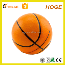 70mm PU Foam basketball anti stress ball