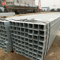 40*80*3.75 mm Galvanized hollow section Square & rectangular steel pipe steel tube