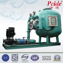 High speed water well sand filter