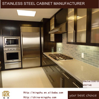 Mingchu Cabinets stainless steel kitchen cabinet