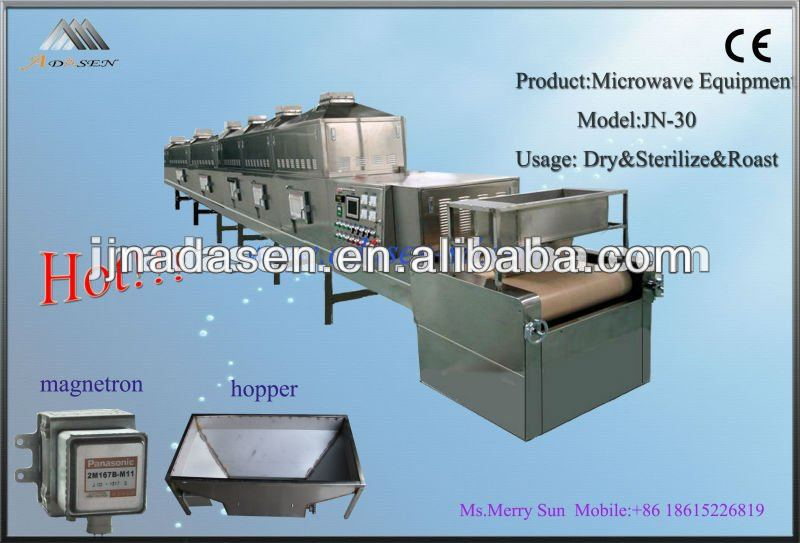 Big capacity low running consumption conveyor belt tunnel type fruit dryer
