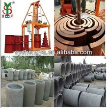 SY1000 concrete pipe making machine for tube forming plant in Ghana