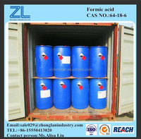 Formic acid for leather/textile industry