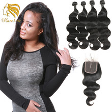 African Human Hair Extensions Miss Hair Rola, Virgin Peruvian Body Wave Bundle Weave Hair Sew In Weave For Sale