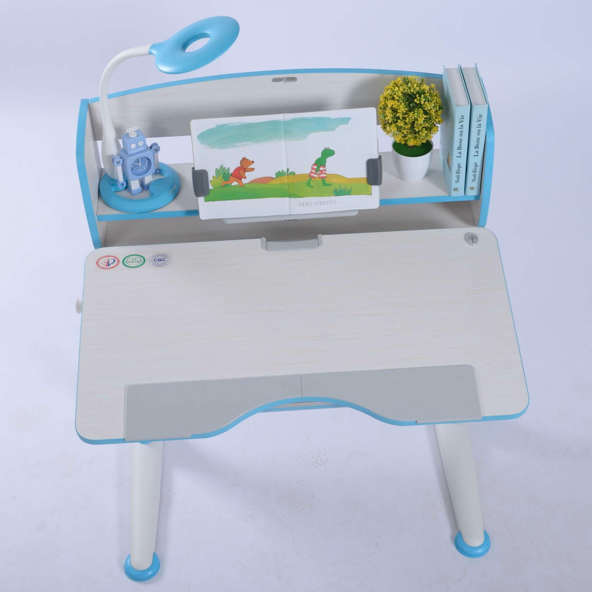 Pink blue Height Adjustable Table for Children