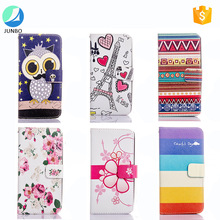 2017 new trending flip leather case for iphone 7 case with wallet card slot