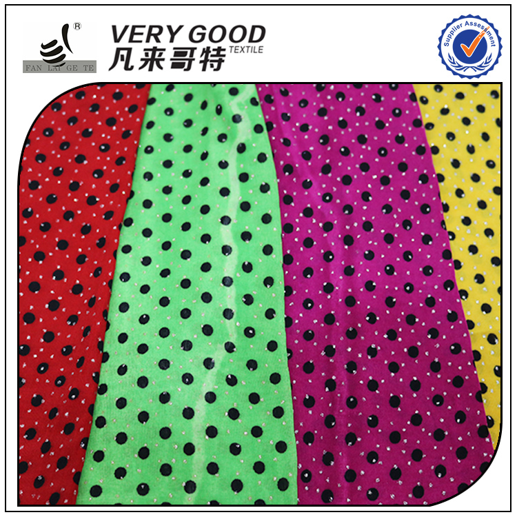 Low MOQ different types of knitting fabric, sailing boat printed fabric