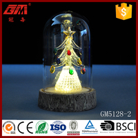 led light decorating christmas glass dome