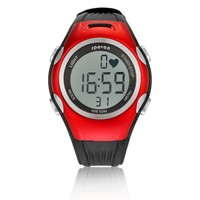 Promotional Pulse StopWatch Heart Rate Monitor Watch Fitness Review Exercise Wrist HRM