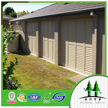 Aluminum shutter with Australian standard Powder coating/anodzing