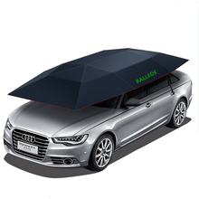 Sun Protection Waterproof Car Sunshade Portable Car Umbrella