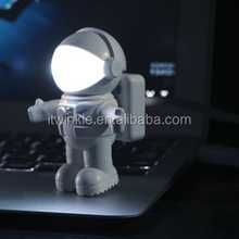 2015 new items Promotions gifts LED spaceman night Light for children USB Astronaut lamp