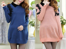 latest trendy fashion mamam pregnant maternity knitted blouse and tops