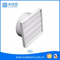 ABS Plastic gravity grille air duct diffuser for comercial air conditioning system, GG supply ceiling air register and grille