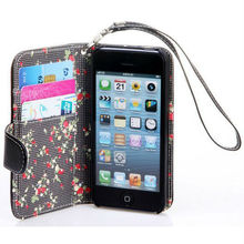 2015 New Arrival Factory Leather Flip Case for iPhone 5 Pattern Holster