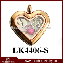 stainless steel jewelry set floating charms lockets wholesale