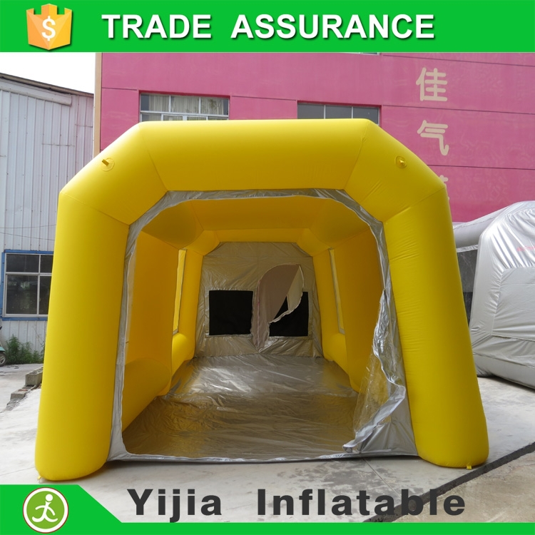Multipurpose inflatable tent garage car spray booth