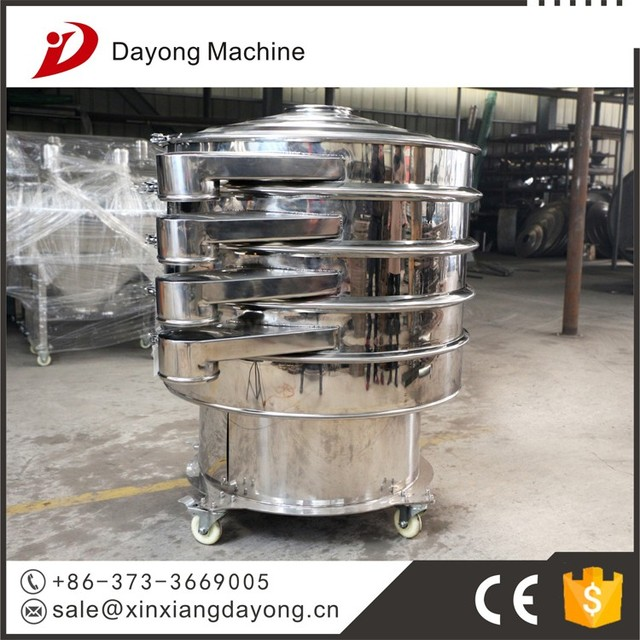 Mica sizing rotary vibro sifter from China manufacture