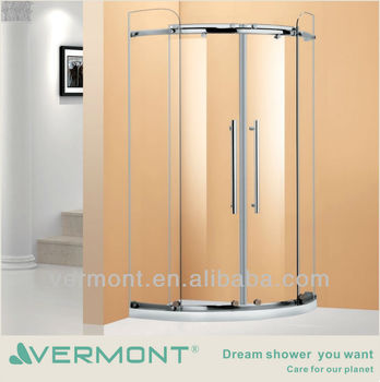 luxury corner glass sliding door
