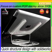 acrylic tablet pc display holder&display holder for ipad