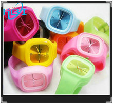 2014 new fashion hotselling silicone rubber watch strap 34mm