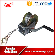 Wire Rope Hand Winch Manual Winch 3000LB mini Equipment GEAR