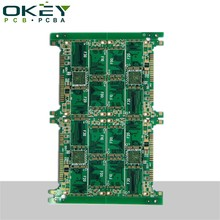 OEM ODM android tv box ru 94v-0 circuit board with rohs double layer pcb manufacturer