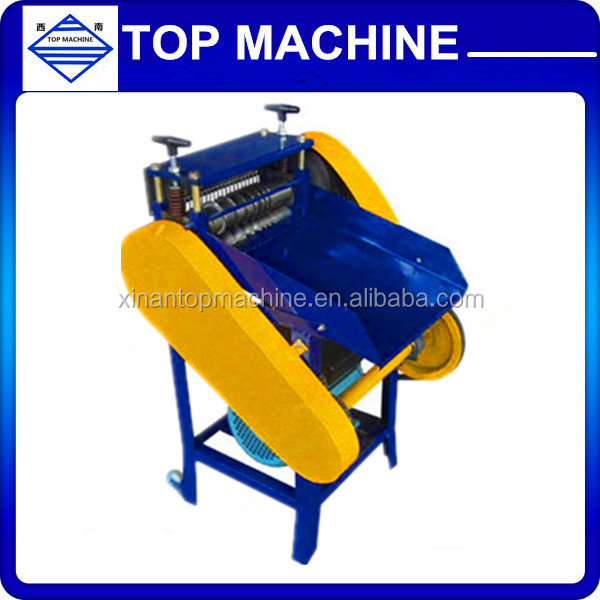 Cable making equipment for copper wire scrap wire cutting/wire stripper /Scrap cable copper stripper machine