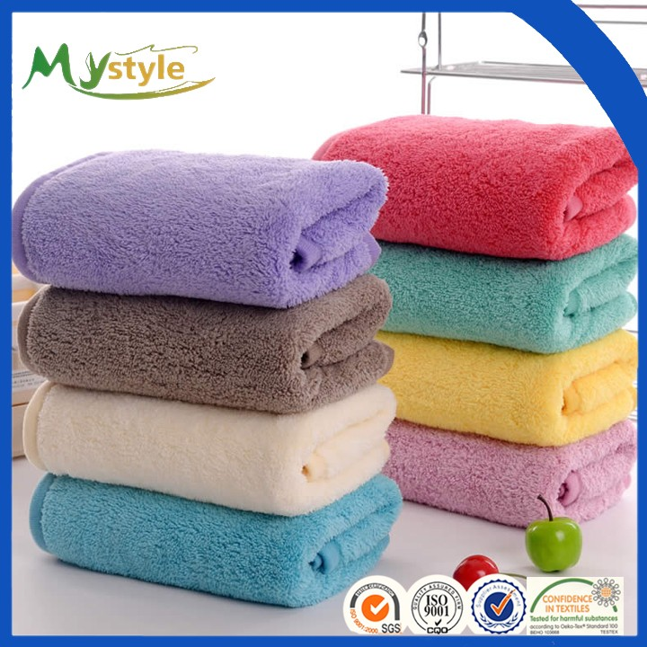 Professional OEM Supply Hotel/home Use Microfiber Bath Towel with good quality