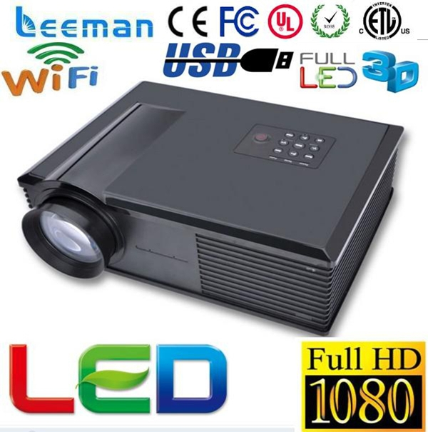 mini dlp android projector with wifi Shenzhen Leeman LED P10