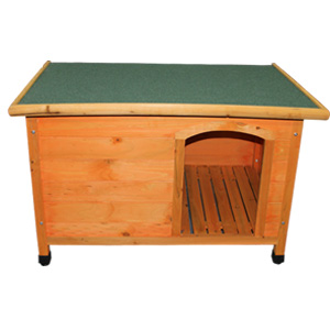 wood dog kennel for pet