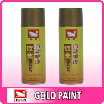 high quality golden acrylic aerosol spray paint buy golden spray. Black Bedroom Furniture Sets. Home Design Ideas