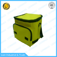 Zippered bags fashionable cooler bag recyclable lunch bag