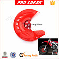 2016 cheap price CNC FRONT DISC COVER WITH MOUNT for crf 450