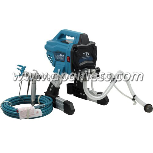 DP-X6 PORTABLE DIY ELECTRICAL Airless Spray Painting Machine,Airless Paint Sprayer