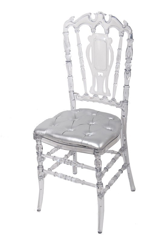 pc crystal resin royal chair for wedding banquet buy. Black Bedroom Furniture Sets. Home Design Ideas
