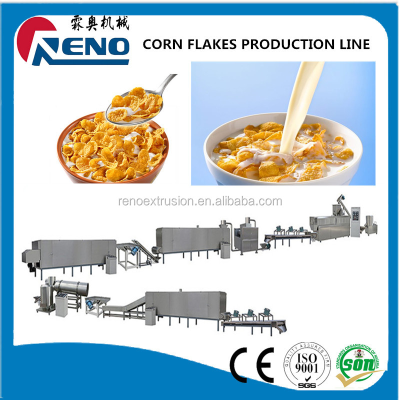 Newly good quality corn flakes pressing machine