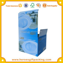 Alibaba China Paper Box Factory Custom Cheap LED Lighting Lamp Bulb Paper Packaging Boxes
