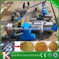 aquatic product flour making machine fish flour plant fish waste processing machine