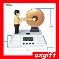 OXGIFT Hot Sale Cheap Mini Table Digital Clock, Gong alarm clock