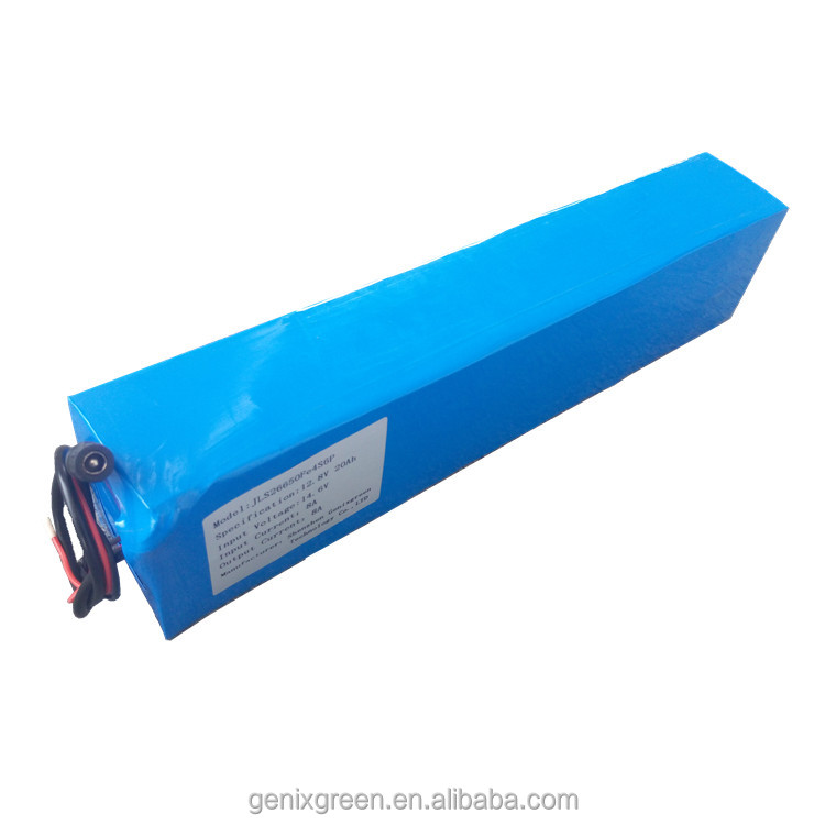 12v 20Ah LiFePo4-4S6P battery apply in electrical reel mower with CE ROHS certifiaction