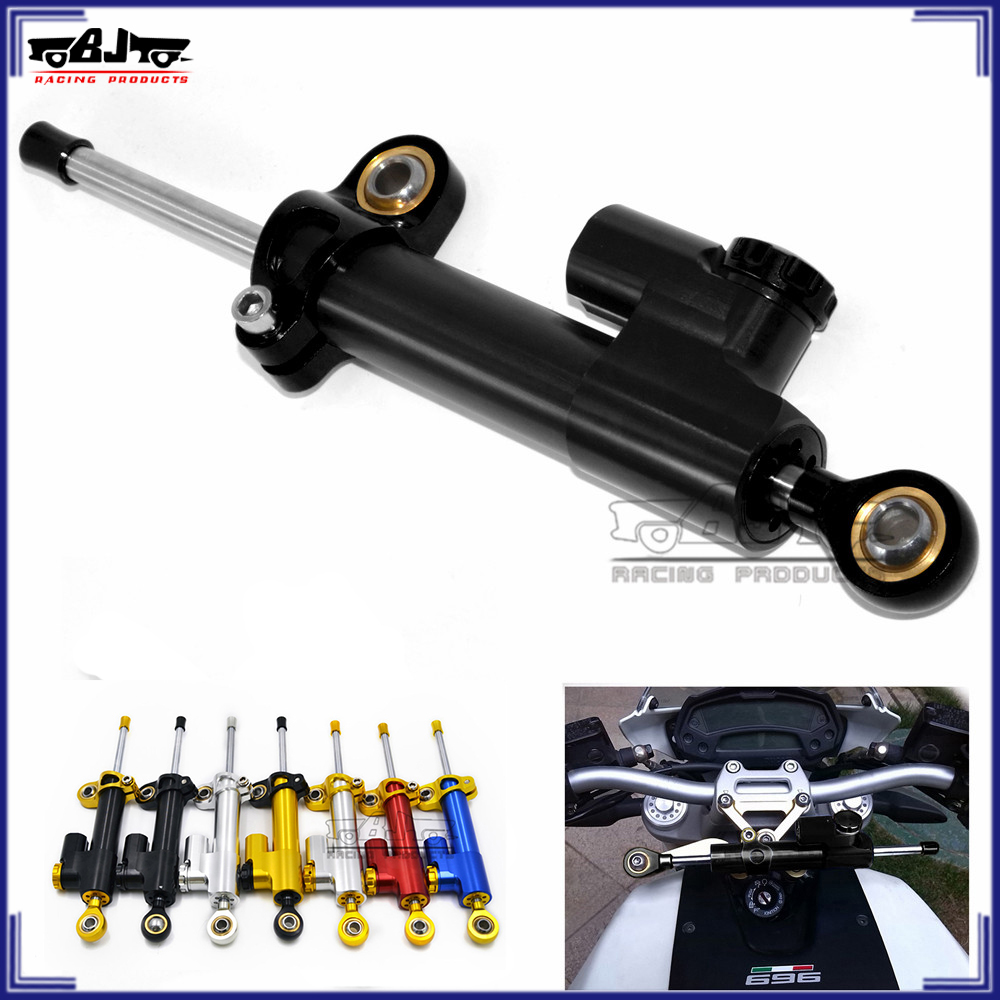 BJ-SD-001 motorbike Steering Damper for yamaha rx100 Motorcycle CNC Stabilizer Linear Reversed Safety Control for yamaha r15