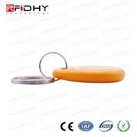 Access control rfid 13.56mhz NFC keyfob / key chain / key lock wholesales